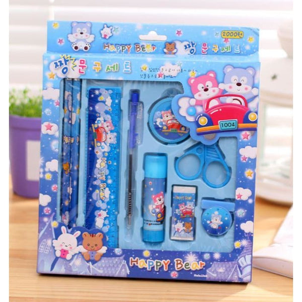 Stationary Set for kids - Blue
