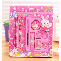 Stationary Set for kids - Pink
