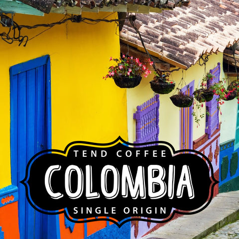 image of Colombian city street