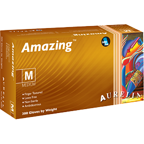 Aurelia Amazing® Nitrile Powder-Free Examination Gloves