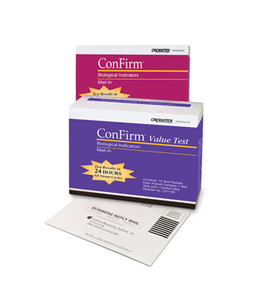 ConFirm™ Mail-In Sterilizer Biological Indicators - 12 Test Packets