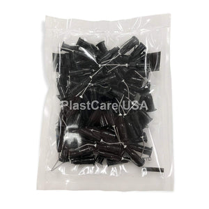 Flow Tips 20G Black Pre Bent Applicator Needle Tips (100/Bag)