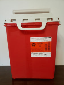BD Sharps Collector - 3 Gallon - Red