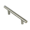 Cabinet handle B239-128 Solid Steel Bar Pulls
