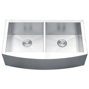 AP3322D – Apron Front Sink Double Bowl