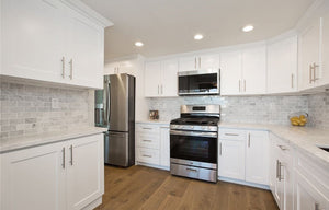 Ice White Shaker (kitchen cabinet)