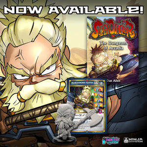 Gork and Super Dungeon Novel Now Available!