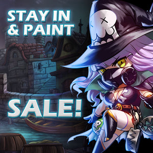 Stay In and Paint Sale!