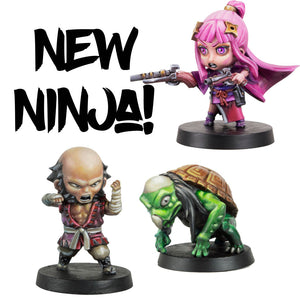 Defeat Your Foes With New Ninja!