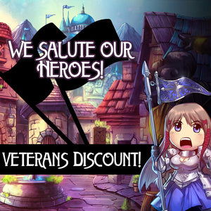 Introducing the VETERAN discount code