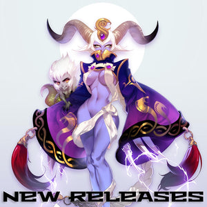 Captain Harker and High Priestess Zineda Now Available!