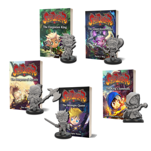 Future House Publishing: Super Dungeon novels preorder