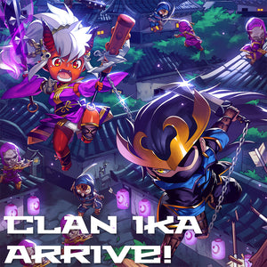 Clan Ika Warband Available Now!