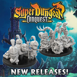 Super Dungeon: Conquest  - New Releases: Makerguild Cannon and Necropult!