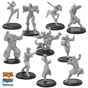 Complete Way of the Fighter Miniature Line Available!