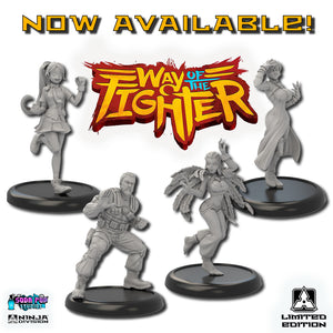 Way of the Fighter Miniatures and Last Chance on Classic Super Dungeon!