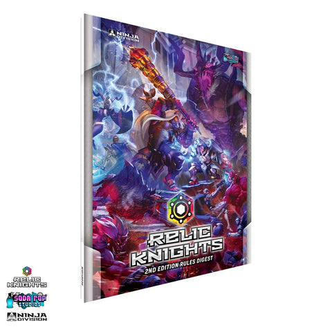 Relic Knights 2nd Edition Digest Rulebook