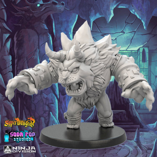 Super Dungeon Abominable Snowman