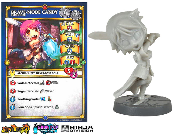 Super Dungeon Brave-Mode Candy