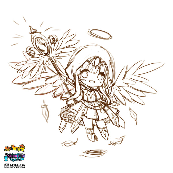 Super Dungeon Celestian Purifier Concept Art