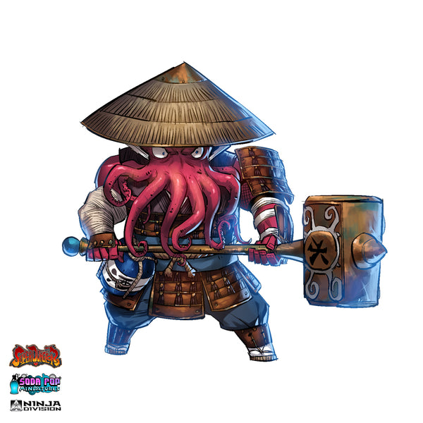 Super Dungeon Clan Ika Warband Oni Art