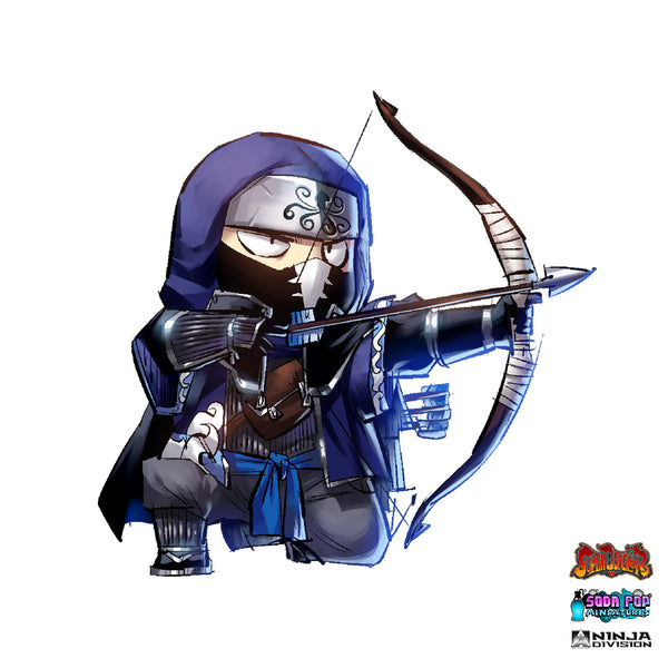 Super Dungeon Clan Ika Warband Yajiri Art