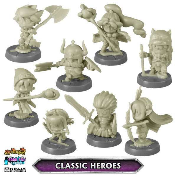 Super Dungeon Classic Heroes