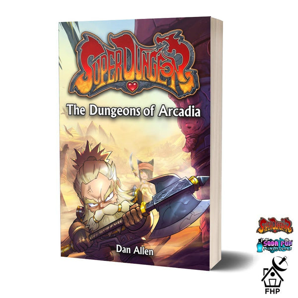 Super Dungeon Novel