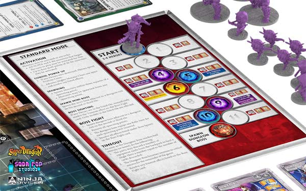 Super Dungeon Explore Mighty Monster Chart