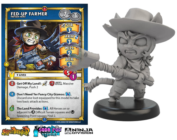 Super Dungeon Fed-Up Farmer