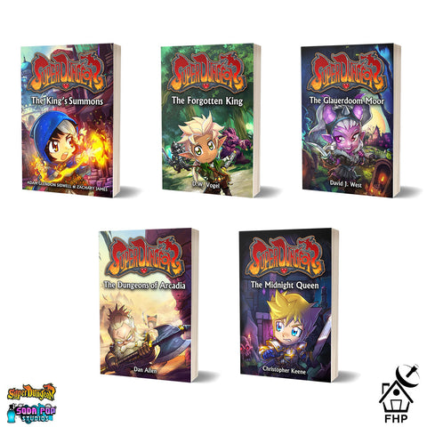 Super Dungeon Novel Series