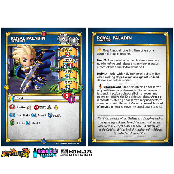 Super Dungeon Royal Paladin