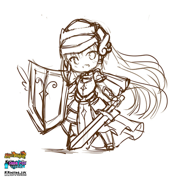 Super Dungeon Virtuous Blade Concept Art