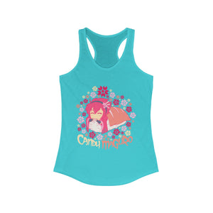 Candy Maguro - Women's Racerback Tank Top - Ninja Division