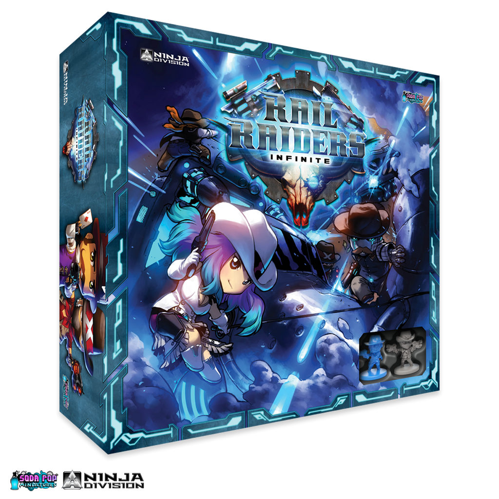 Rail Raiders Infinite - Ninja Division