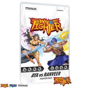 Fighter Deck: Aya vs Ranveer Fighter - Ninja Division