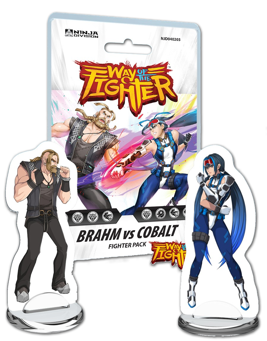 Fighter Deck: Brahm vs Cobalt - Ninja Division