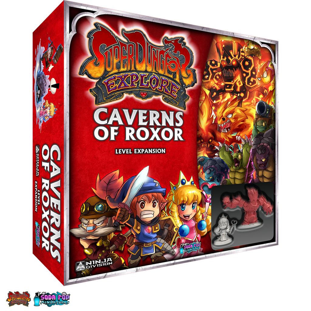 Caverns of Roxor - Ninja Division