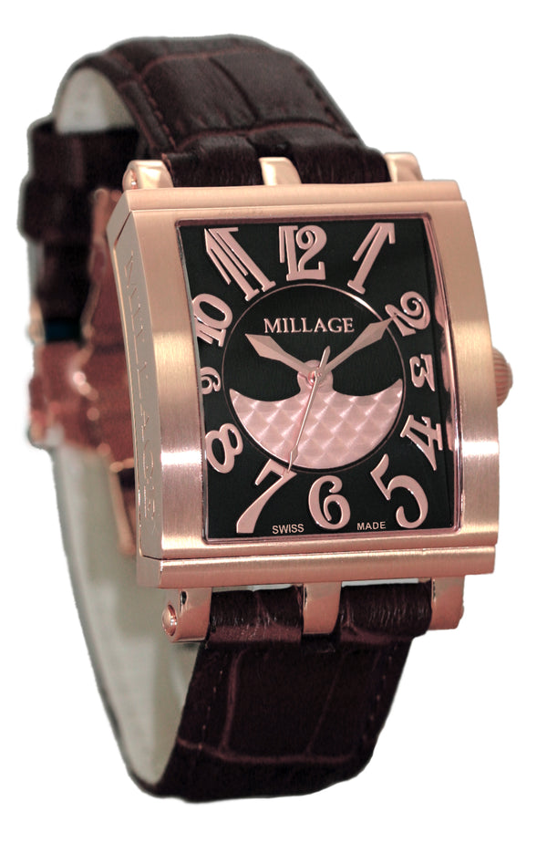 Millage DIJON Collection Watch BLKRG