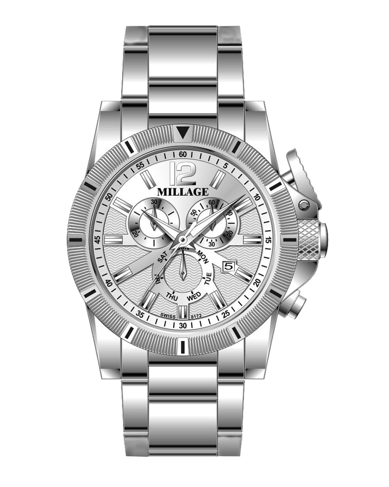 Millage ESQUIRE Collection Watch SILSIL