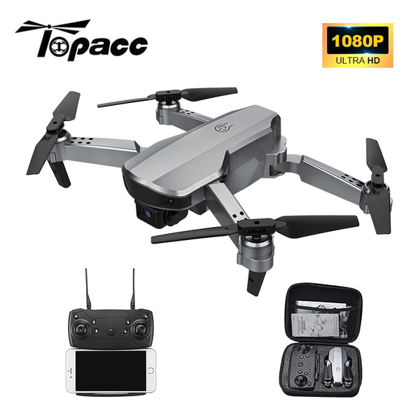 Topacc T58 RC Quadcopter Mini Drone Helicopter Profesional Foldable WIFI FPV 1080P Camera Hight Hold Mode RTF Racing Dron RC Toy