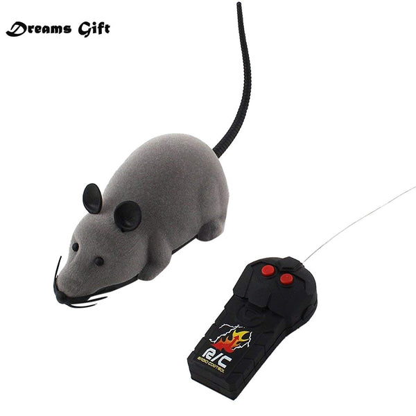 Hot RC Funny Wireless Electronic Remote Control Mouse Rat Pet Toy for Kids Gifts toy Remote Control Toys Mouse Drop Shipping
