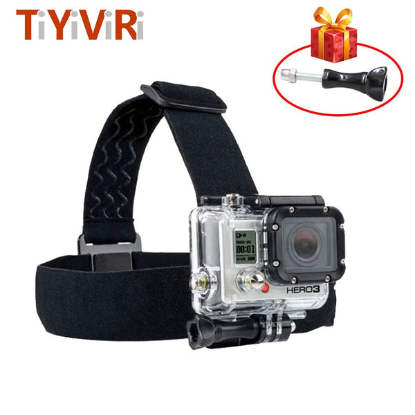 Head Strap Belt Band Holder Tripod Helmet Mount Bracket for Go Pro Hero 5 4 3 2 for Xiaomi Xiomi Yi SJ4000 Eken H8 Action Camera