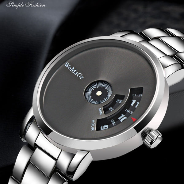 Montre Homme 2020 New Hot Sell Brand WoMaGe Wrist Watch Luxury Unique Style Men Quartz Watches Fashion Designer Male Watch