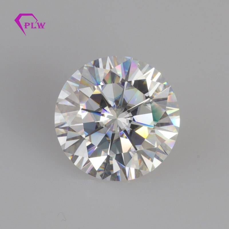 D Color 2pcs 5mm+2pcs 6mm+2pcs 7mm & EF Color 2pcs 8mm Round Cut Moissanite With Certificates & Engrave code With DHL Ship