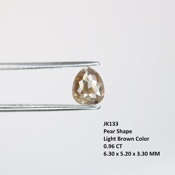 Genuine 0.96 Ct Diamond