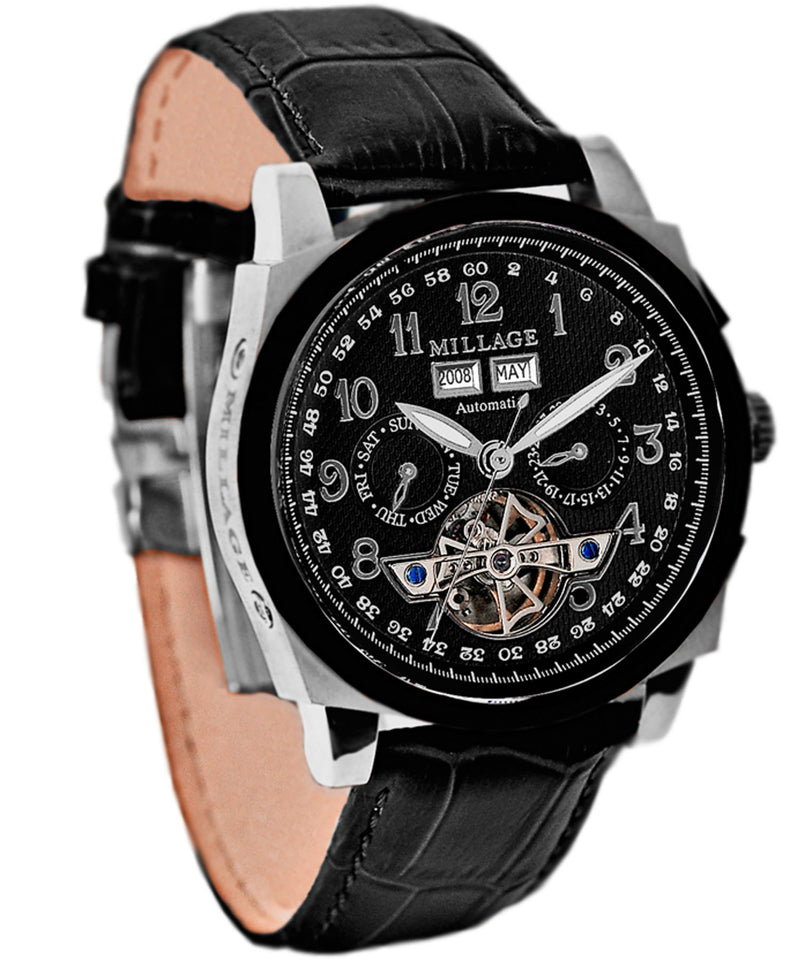 Millage TORBILLION Collection Watch M2326TTIPBB