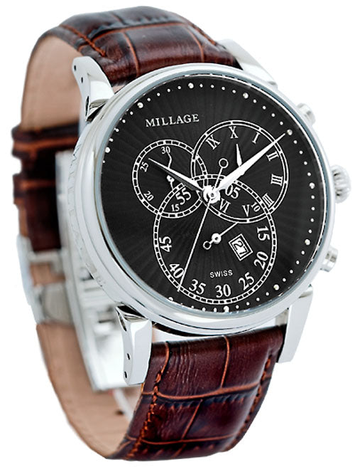 Millage HAMPTON Collection Watch SBLKBR