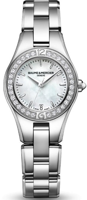 BAUME & MERCIER Mod.  LINEA Diamonds Quartz