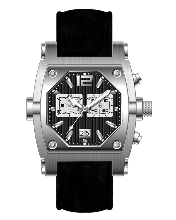 Millage ROGUE Collection Watch M3126 SLS BLK/W